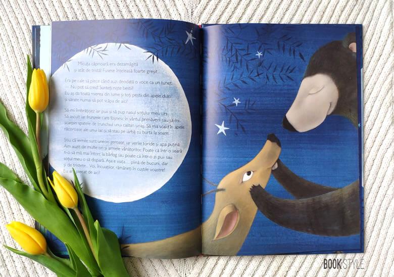 Povestea unei micuțe căprioare, de Rodoula Pappa și Célia Chauffrey | Editura Cartemma