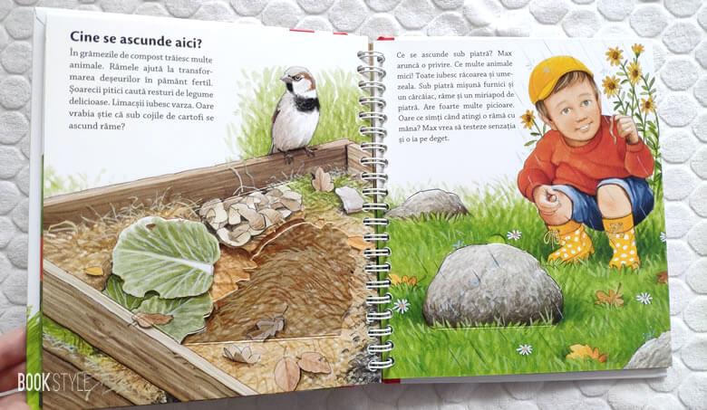 Cine locuiește în grădină?, de Patricia Mennen și Steffen Walentowitz. Colecția Junior (2-4 ani)   Editura Casa