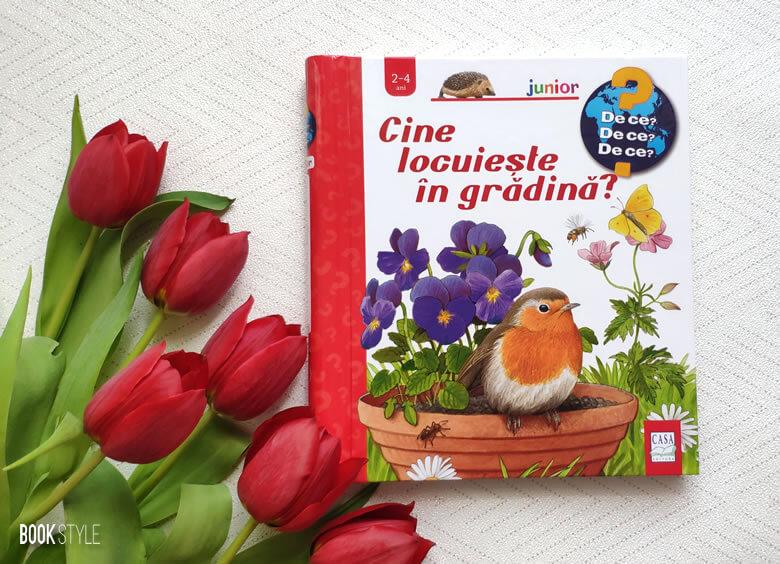 Cine locuiește în grădină?, de Patricia Mennen și Steffen Walentowitz. Colecția Junior (2-4 ani) | Editura Casa