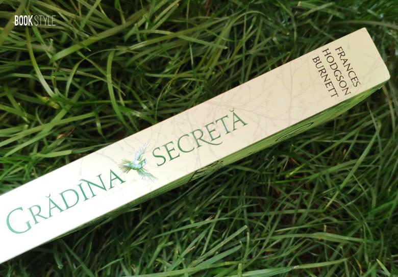 Grădina secretă, de Frances Hodgson Burnett - Romanul integral | Editura Corint Junior ISBN: 978-606-793-763-3