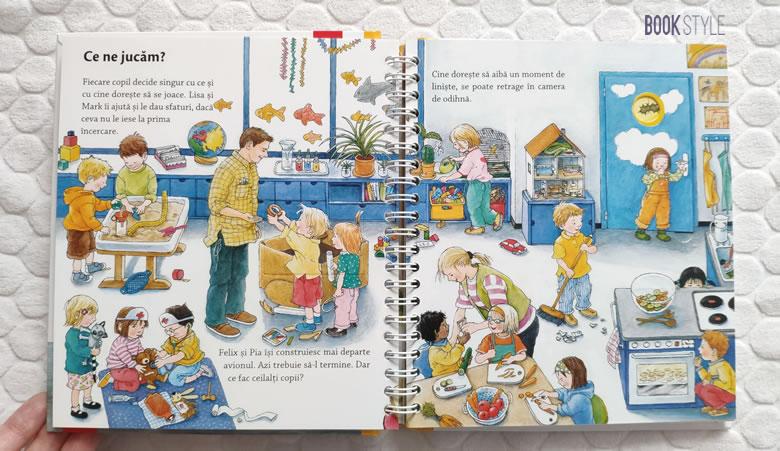 Grădinița mea, de Doris Rübel. Colecția Junior (2-4 ani)   Editura Casa
