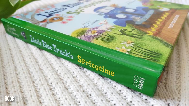 Primăvara Micului Camion Albastru | Little Blue Truck's Springtime, de Alice Schertle și Jill McElmurry