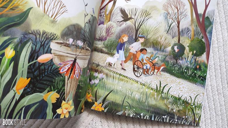 Grădina secretă - adaptare pentru cei mici | The Secret Garden, de Frances Hodgson Burnett și Adelina Lirius HarperCollins Publishers