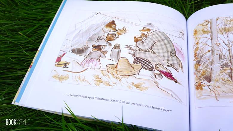 Ernest și Celestine la picnic, de Gabrielle Vincent - Editura Frontiera ISBN: 9786068986142