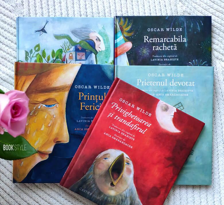 Minunatele cărți scrise de Oscar Wilde și ilustrate de Anca Smărăndache | cartier codobelc