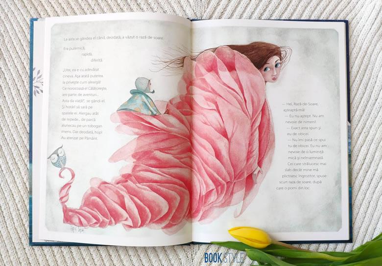 Povestea băiețelului care trăia pe lună, de Maria Papayanni și Effie Lada | Editura Cartemma
