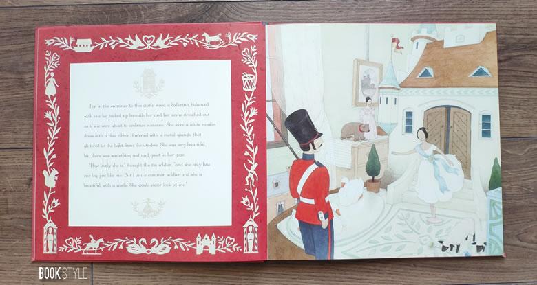 Soldățelul de plumb, de Andersen, Katie Cotton și Sophie Allsopp - Templar Publishing ISBN: 9781848775114