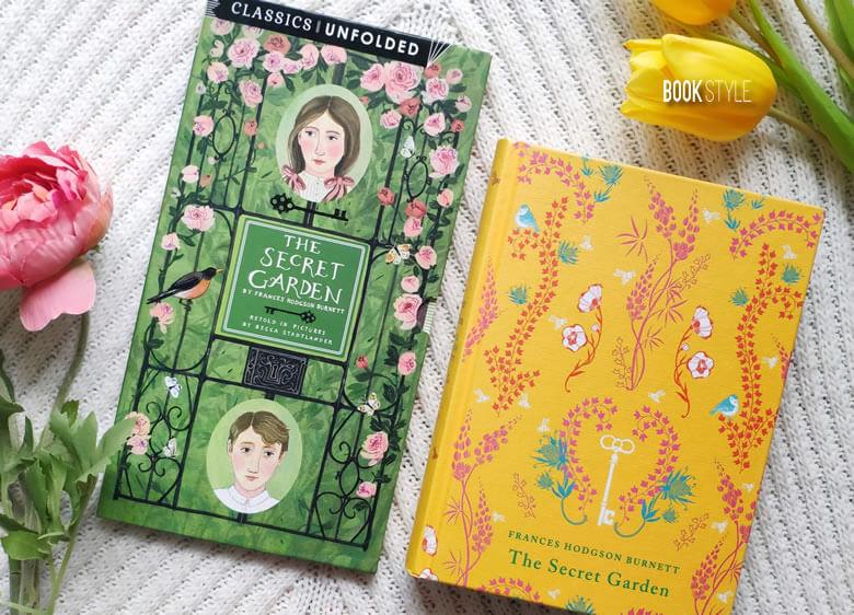 Grădina secretă - Pliant cu rezumatul cărții, de Frances Hodgson Burnett și Becca Stadtlander - Classics Unfolded ISBN: 978184780680 & 9780141336534