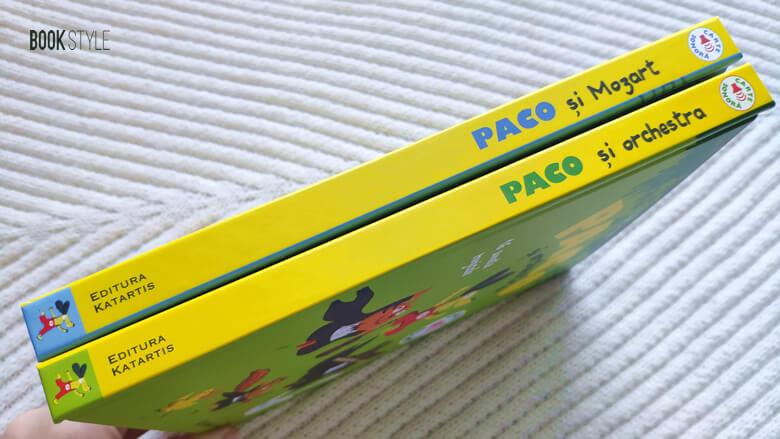 Carte sonoră. Paco și orchestra - Mozart, de Magali Le Huche - Editura Katartis