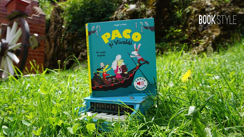 Paco și Vivaldi - Seria muzicală Paco - Editura Katartis