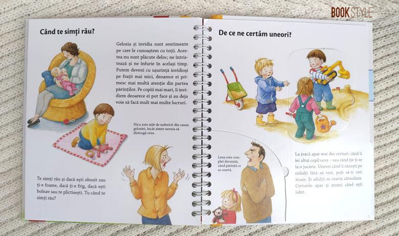 Speriat, furios sau vesel, de Doris Rubell. O carte despre trăirile micuților noștri | Editura Casa