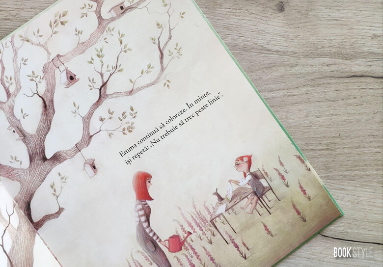 Emma nu vrea să treacă de linie, de Celine Person și Francesca Dafne Vignaga - Editura Univers