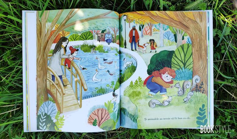 Fii bun, de Alison Green. O carte despre bunătate ilustrată de 38 de ilustratori - Editura Litera