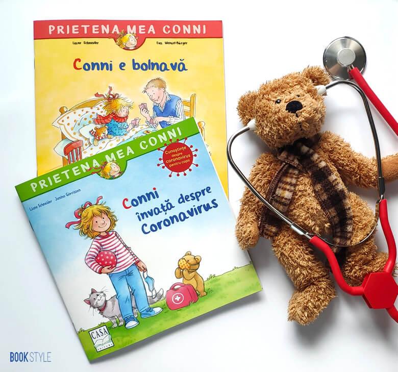 rietena mea Conni e bolnavă și Învață despre coronavirus - Editura Casa