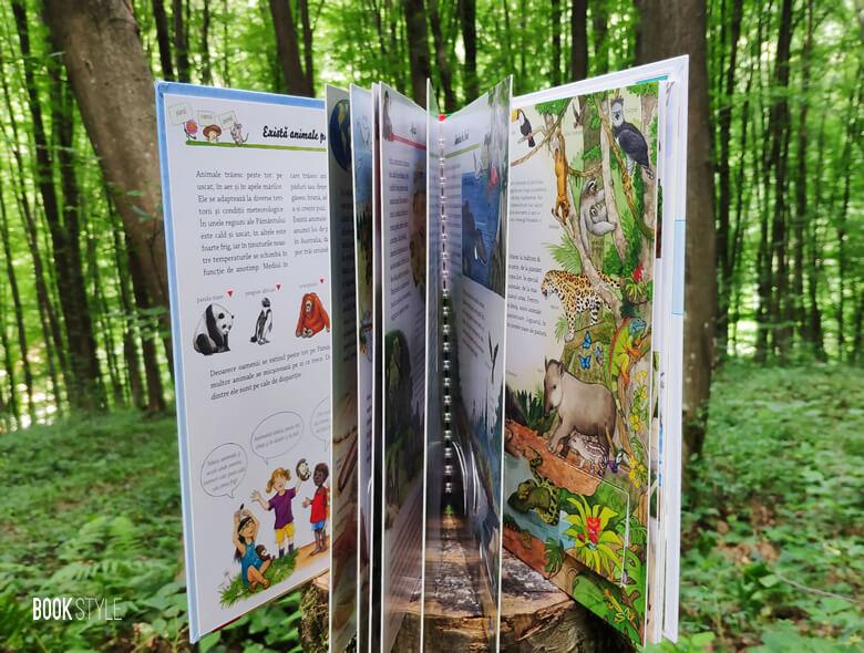 Primul meu atlas cu animale. O carte cu ferestre a colecției De ce? pentru 4-7 ani | Editura Casa