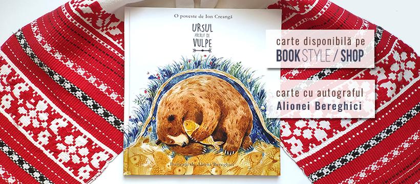 Ursul păcălit de vulpe, de Ion Creangă și Aliona Bereghici