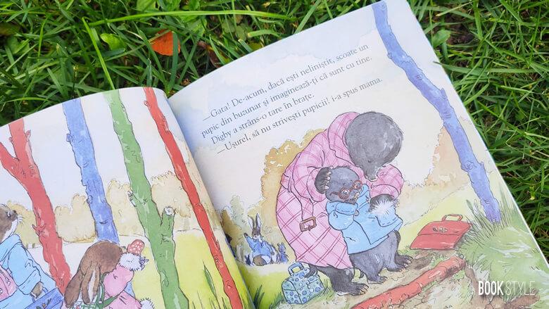 Buzunarul cu pupici, de Angela McAllister și Sue Hellard - Humanitas Junior - carte gradinita