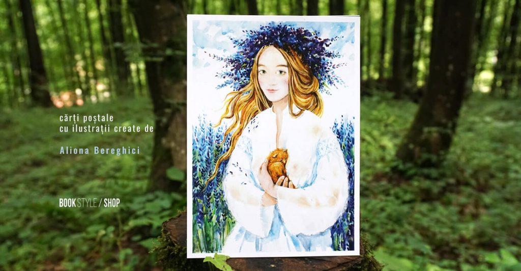 Aliona Bereghici - carti postale