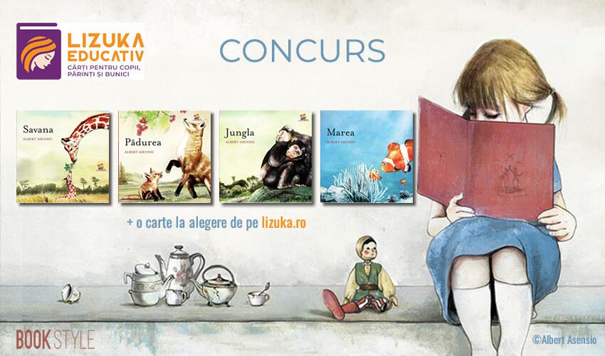 Concurs: Cărți ilustrate de Albert Asensio - Editura Lizuka Educativ