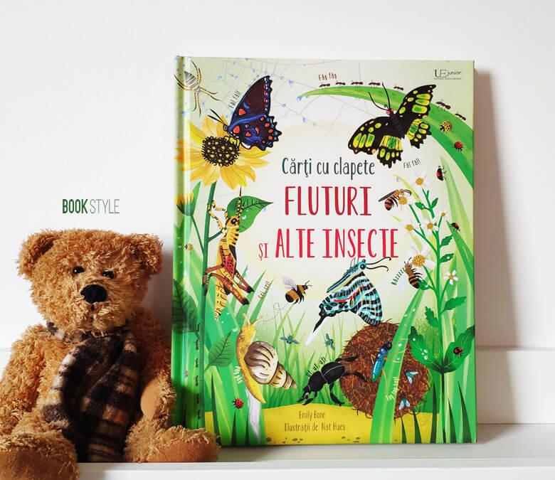 Carte cu clapete: Fluturi și alte insecte, de Emily Bone - Colecția Usborne | Univers Enciclopedic