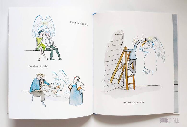 Îngerul bunicului, de Jutta Bauer | Editura Frontiera