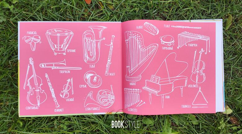 Simfonia sălbatică, de Dan Brown | Editura Rao - carte interactivă cu aplicație muzicală - instrumente muzicale