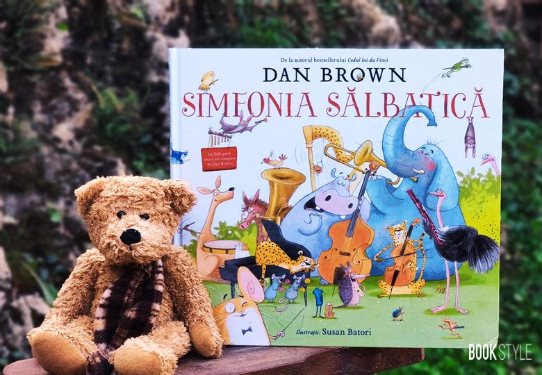 Simfonia sălbatică, de Dan Brown | Editura Rao - carte interactivă cu aplicație muzicală
