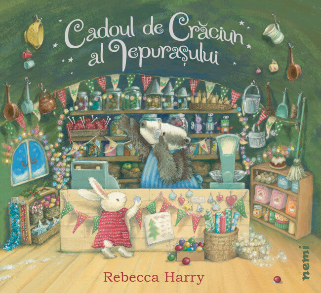Cadoul de Crăciun al iepurașului, de Timothy Knapman, Rebecca Harry - Editura Nemi
