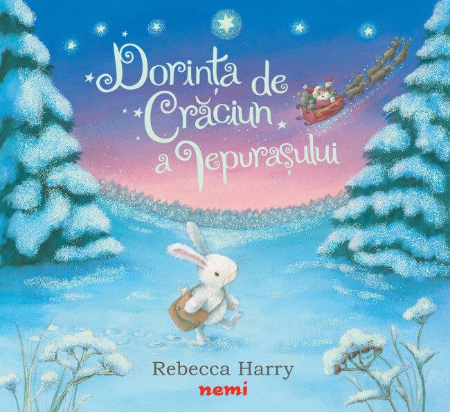 11. Dorința de Crăciun a iepurașului, de Timothy Knapman, Rebecca Harry - Editura Nemi