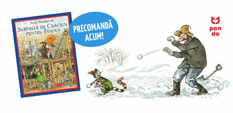 Surpriză de Crăciun pentru Findus – Sven Nordqvist