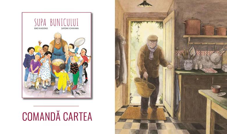 Supa bunicului de Eiko Kadono, Satomi Ichikawa - Editura Cartea Copiilor