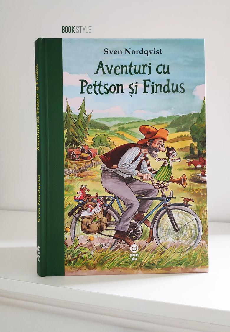 Aventuri cu Pettson și Findus, de Sven Nordqvist în ediție cartonată | Editura Pandora M