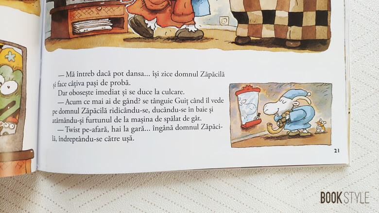 Noapte bună, domnule Zăpăcilă!, de Mauri Kunnas - Editura Pandora M